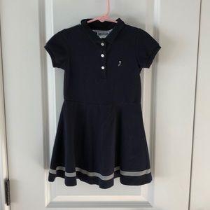 Jacardi size 5t cotton navy dress